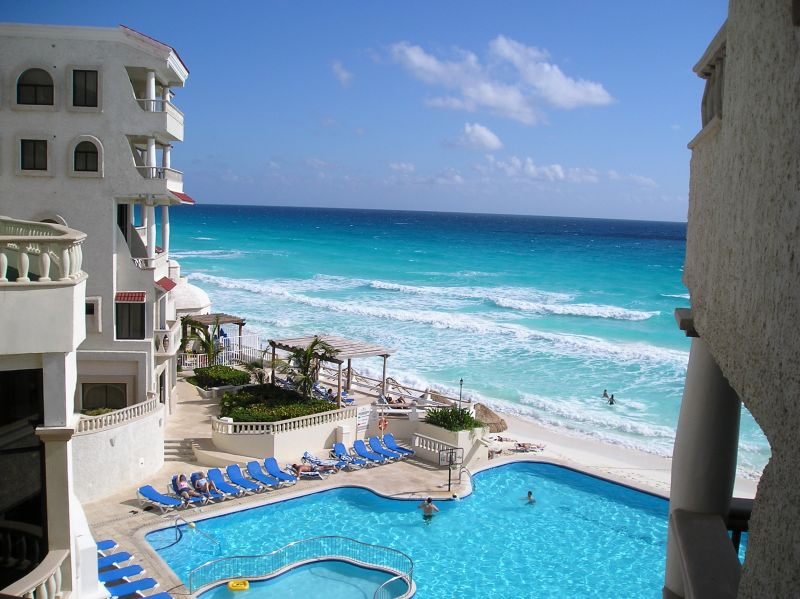 Strandhotel in Cancun