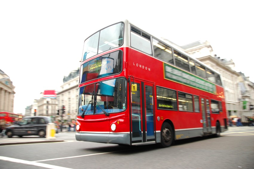Dooppeldecker Bus in London