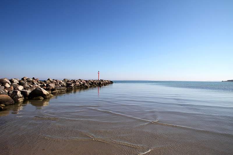 An der deutschen Ostseeküste