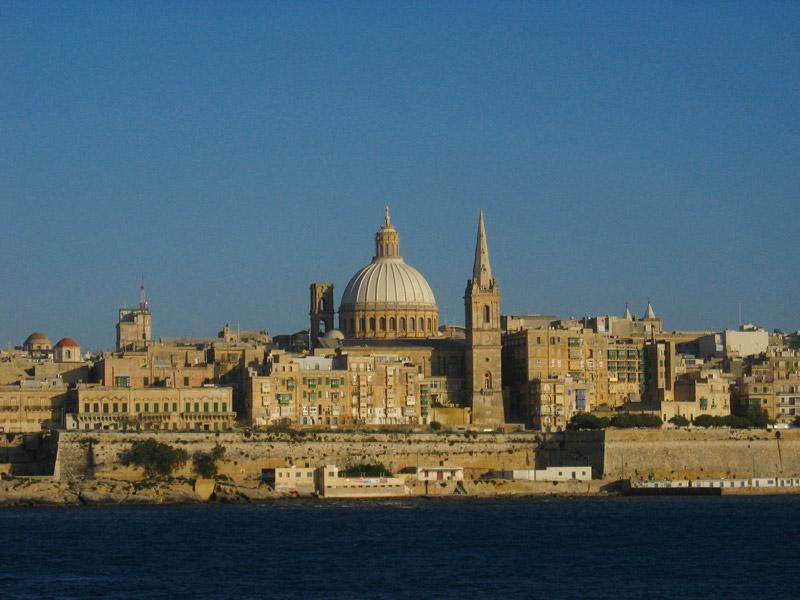 Die Hauptstadt von Malta – Valletta