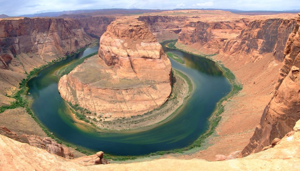 Der Horseshoe Bend im Grand Canyon